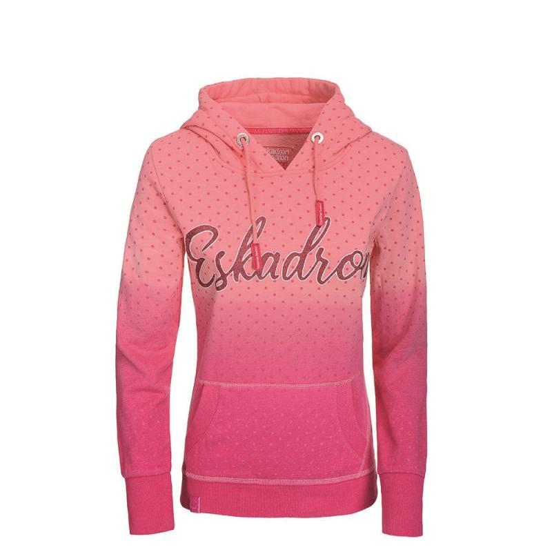 Bluza z kapturem damska Bella Eskadron Fanatics różowa w kropki 2019