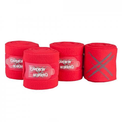 Bandaże polarowe Eskadron NG red, czerwone SS2012