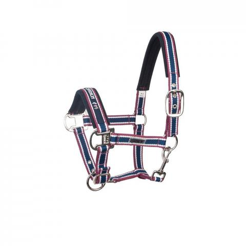 Kantar Eskadron CS Pin Buckle navy-white-burgundy, granat-biały-bordo AW2011