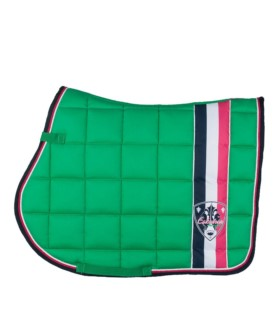 Czaprak Eskadron Limited Edition Big Square leaf green, zielony 2016
