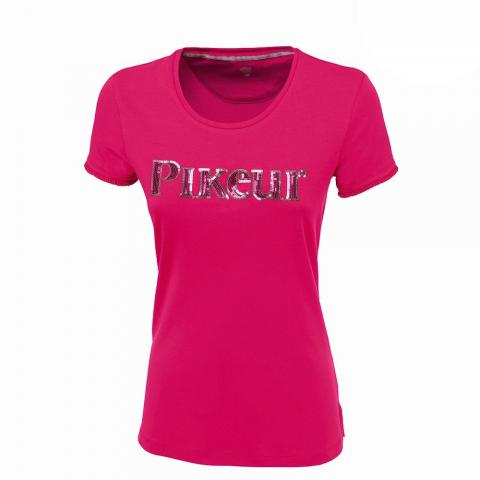 Koszulka damska Pikeur Uljana Prime ciemny róż 2019
