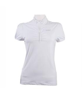 Bluzka konkursowa Pikeur biała
