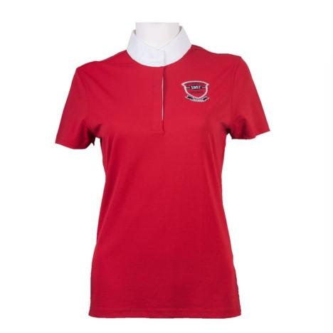 Bluzka konkursowa Pikeur czerwona