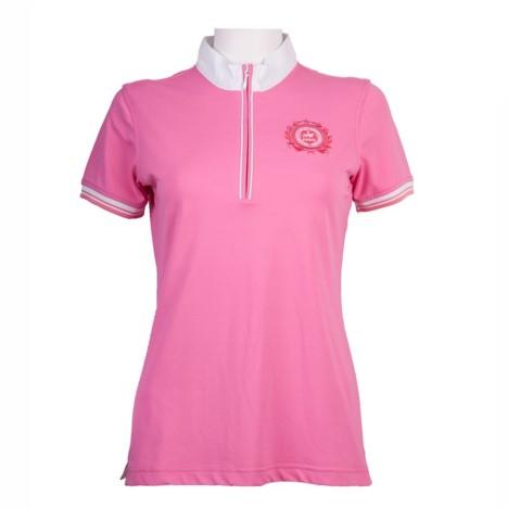 Bluzka konkursowa Pikeur różowa