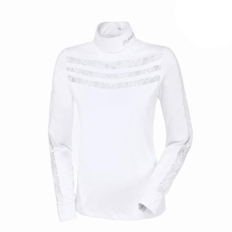 Bluzka damska Pikeur Adelina biała 2019