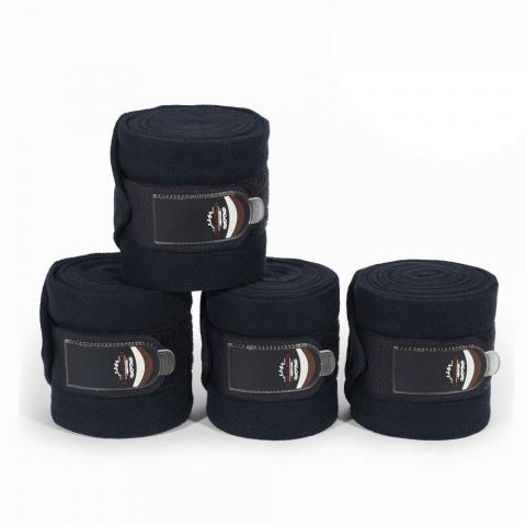 Bandaże polarowe Eskadron Heritage Fleece blackble, czarne 2018
