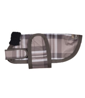 Derka dla psa Eskadron Ripstop walnut-taupe check, kratka brąz 2012