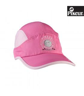 Bejsbolówka Pikeur różowa