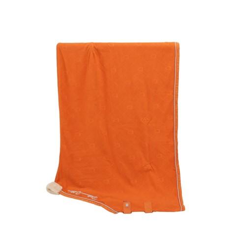 Derka polarowa Eskadron Fleece Stamp Vermillion-Orange, pomarańczowa Platinum 2019