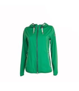Bluza z kapturem Pikeur Medea zielona