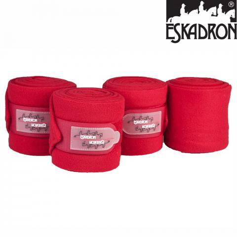 Bandaże polarowe Eskadron CS chilli, czerwone SS2010