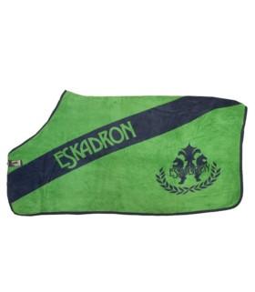 Derka polarowa Eskadron CS Darol Daigonal navy-green, zieleń-granat AW2010
