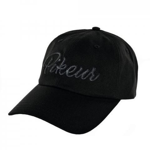 Bejsbolówka Pikeur Cotton Cap czarna 2019