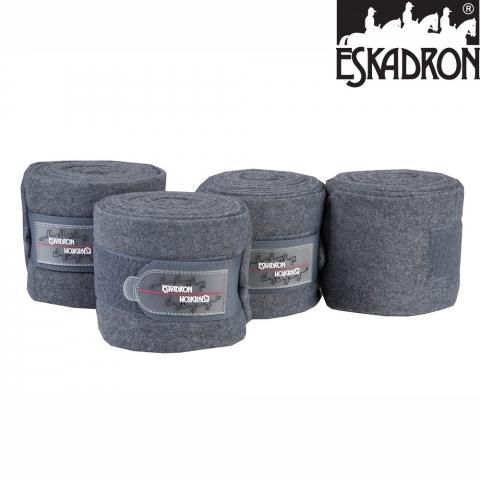 Bandaże polarowe Eskadron NG grey melange, melanż szary AW2014