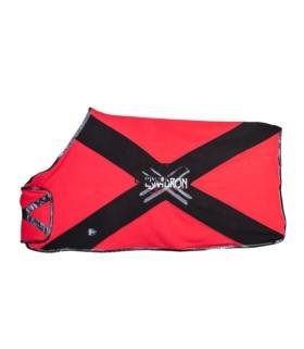Derka polarowa Eskadron NG Bicross red-negro, czerwono-brązowa 2012