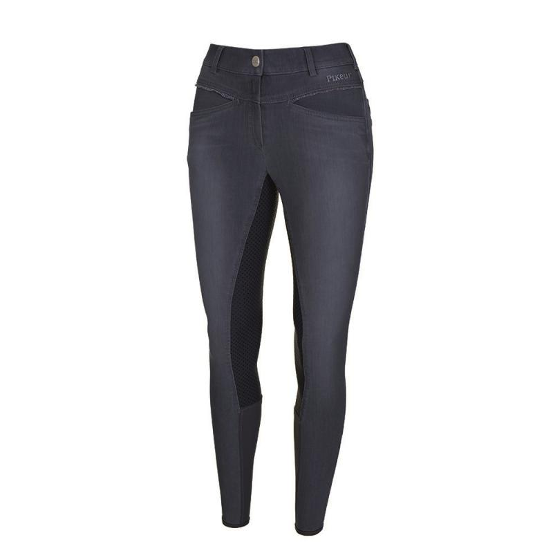 Bryczesy Pikeur Udina Jeans Grip granatowe 2019