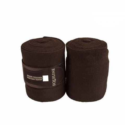 Bandaże akrylowe Equiline Stable granatowe