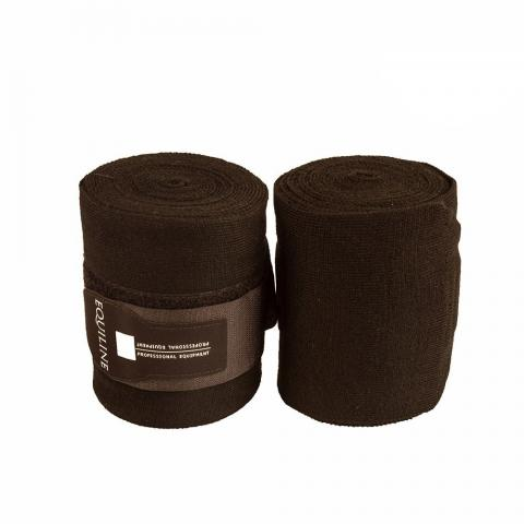 Bandaże akrylowe Equiline Stable czarne