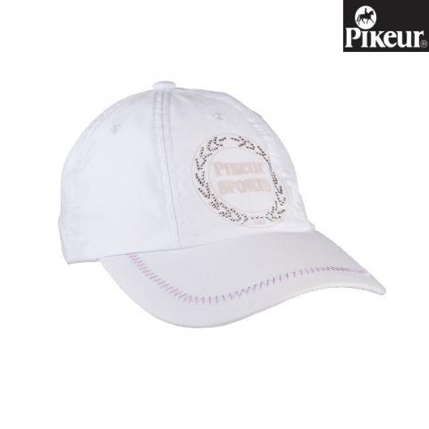 Bejsbolówka Pikeur biała