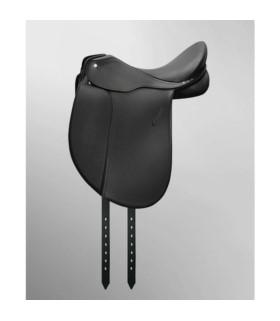Siodło ujeżdżeniowe Passier Compact Comfort czarne