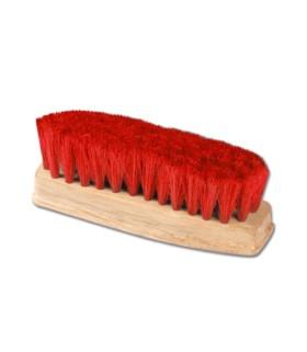 Szczotka HW do kopyt mała z czerwonym włosem