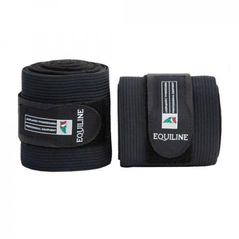 Bandaże polarowo-elastyczne Equiline Work czarne