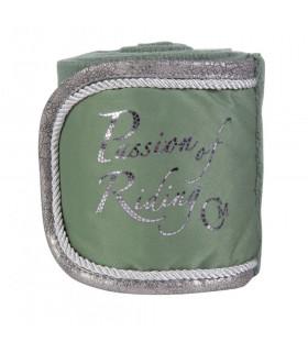 Bandaże polarowe HKM Piemont khaki