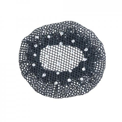 Siatka na włosy Busse Standard-crystal czarna