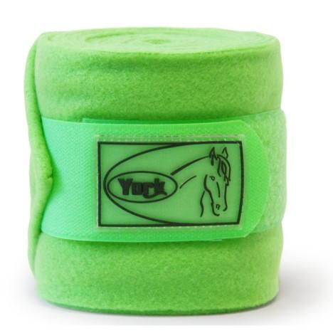Bandaże polarowe York zielone