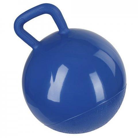 Piłka dla konia Kerbl miękka niebieska