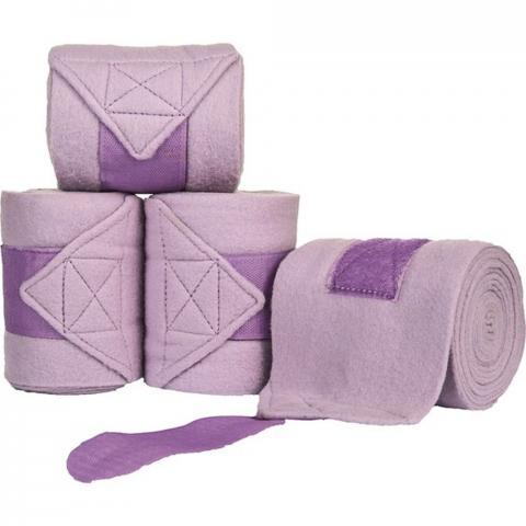 Bandaże polarowe HKM fioletowe