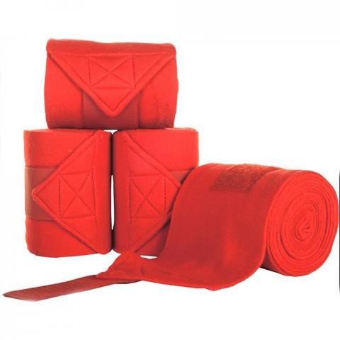 Bandaże polarowe HKM czerwone