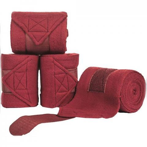 Bandaże polarowe HKM bordowe