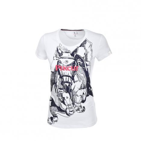 Koszulka damska Pikeur Rina white 2020