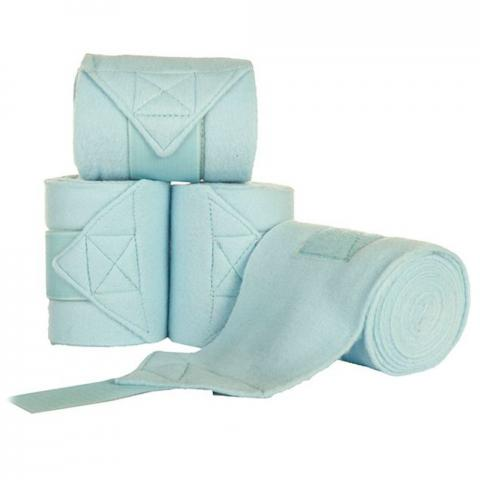 Bandaże polarowe HKM błękitne