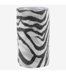 Bandaż samoprzylepny Horze Flex zebra