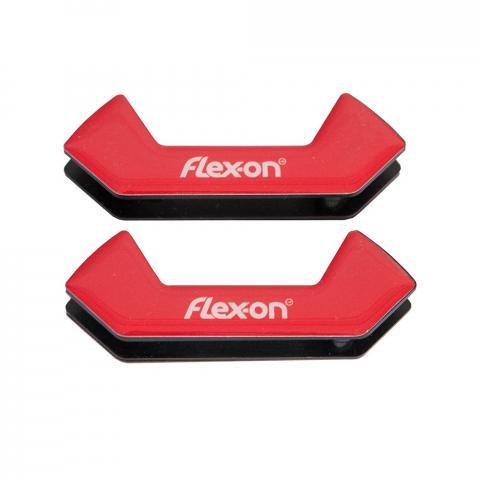 Wkładki magnetyczne do strzemion bezpiecznych Flex-on Safe On czerwone