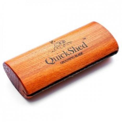Szczotka do usuwania starej sierści QuickShed 12cm Deluxe
