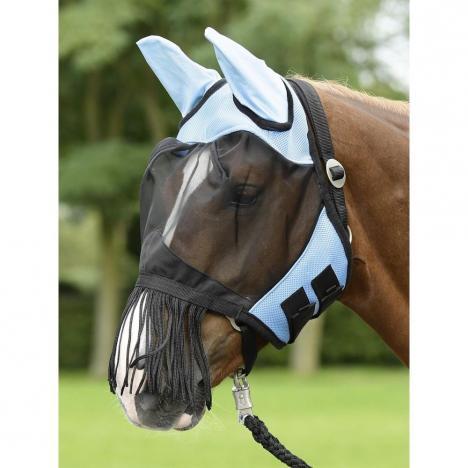 Maska na owady Busse Fly Cover Fransen light blue/black