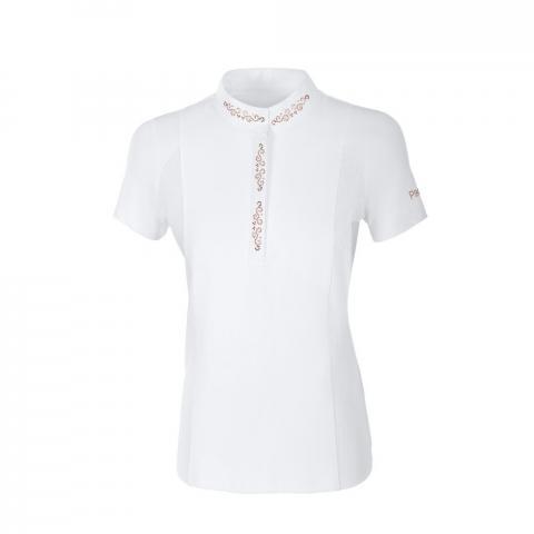Koszulka konkursowa damska Pikeur Isis white 2020