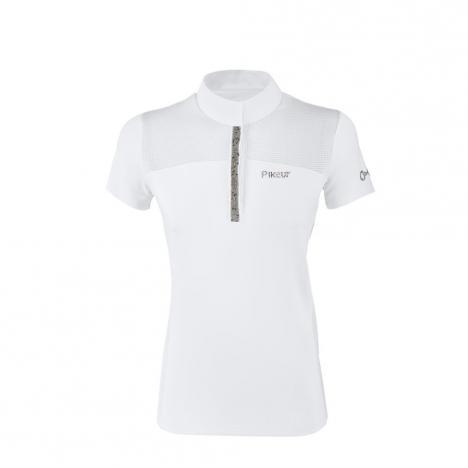 Koszulka konkursowa damska Pikeur Ebony white 2020