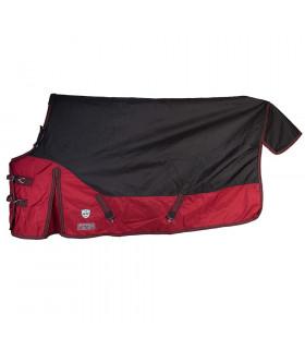 Derka HKM Protection Winter czarno-czerwona