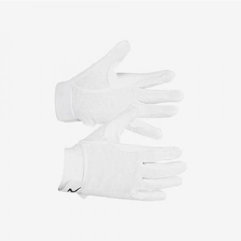 Rękawiczki Horze Basic Polygrip białe