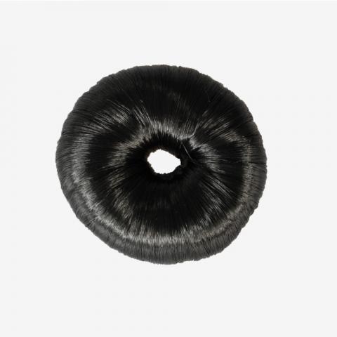 Gumka do włosów Horze Donut czarna
