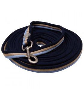 Lonża IR Cushion brąz-beż-błękit