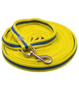 Lonża IR Cushion żółto-granatowa