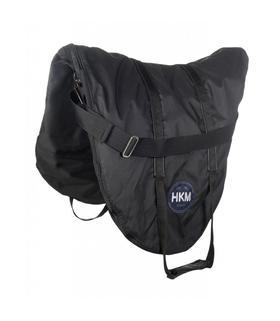 Pokrowiec na siodło HKM Basic czarny