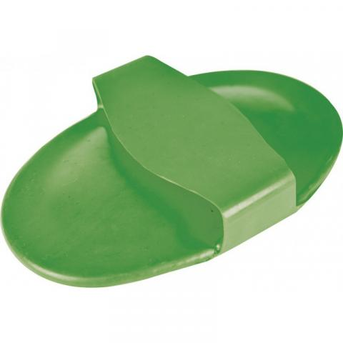 Zgrzebło Ekkia gumowe zielone