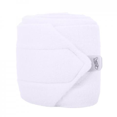 Bandaże polarowe QHP white, białe