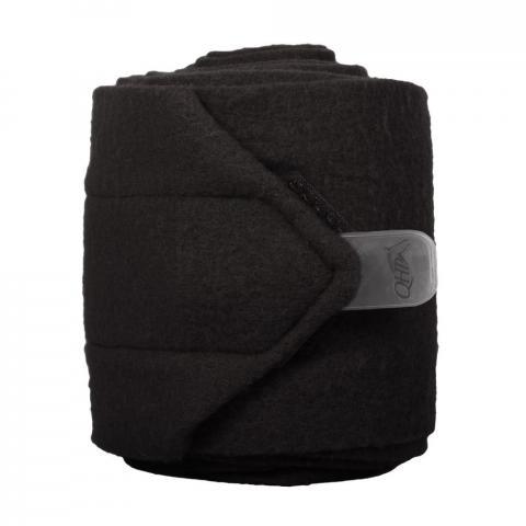 Bandaże polarowe QHP black,czarne